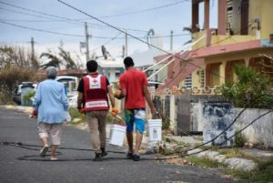 Red Cross Helps Puerto Rican Victims